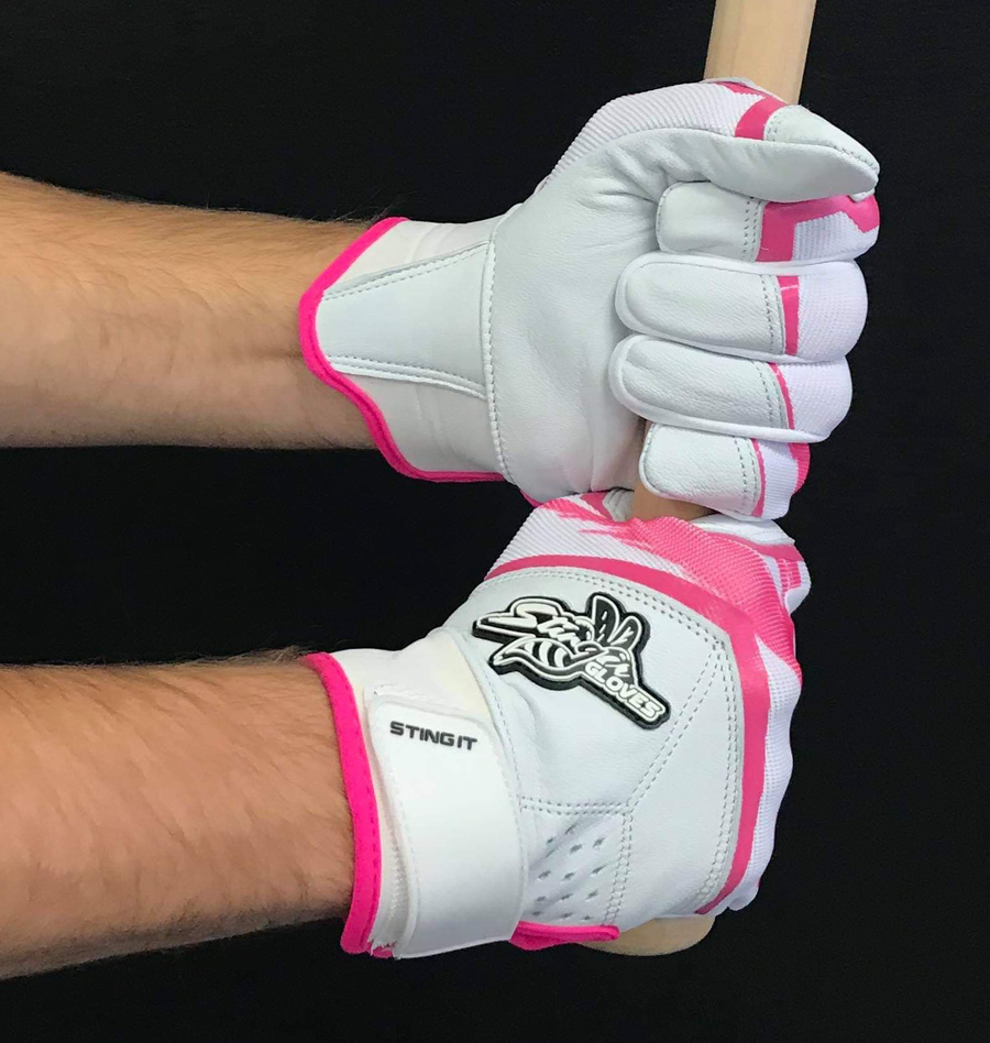 Breast Cancer Awareness Premium Batting Gloves