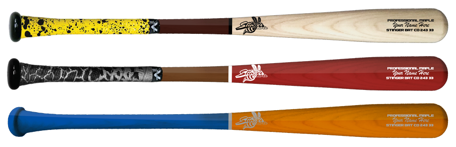 Custom Stinger Pro Grade, 3 Bat Pack