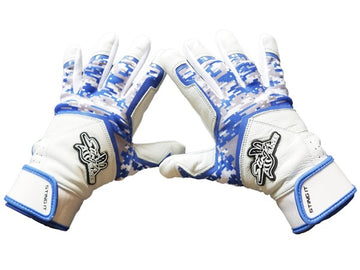 Stinger - Sting Squad Digital Camo (Royal) Batting Gloves