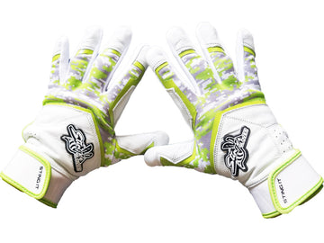 Stinger - Sting Squad Digital Camo (Lime Green) Batting Gloves