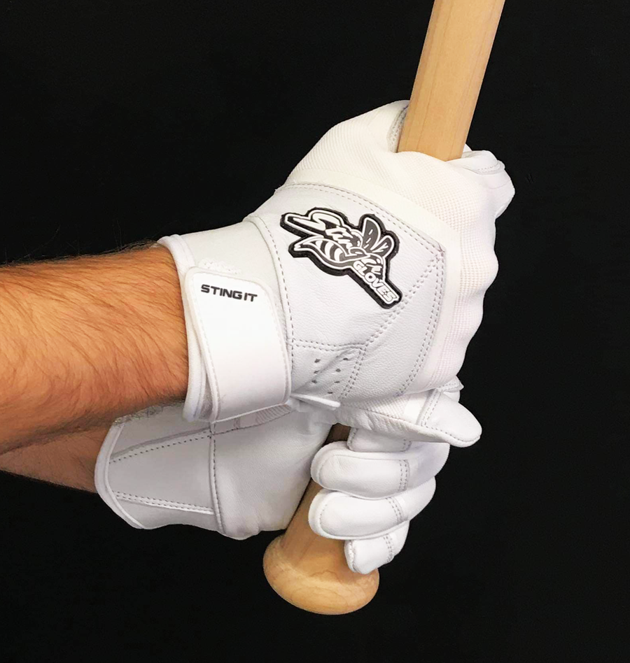 Stinger - White-Out Batting Gloves