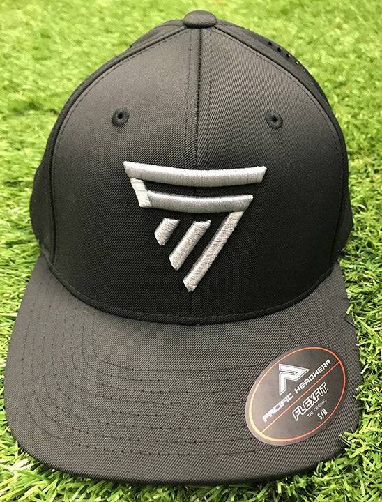 Stingman Black and Graphite Flexfit Hat