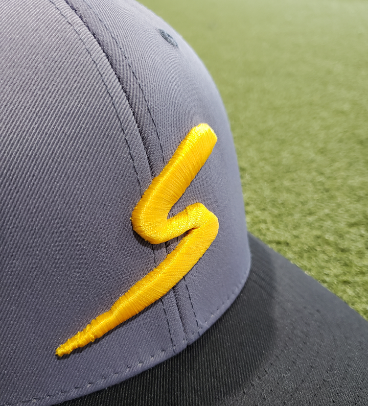 Stinger Graphite, Black & Yellow Logo Cap