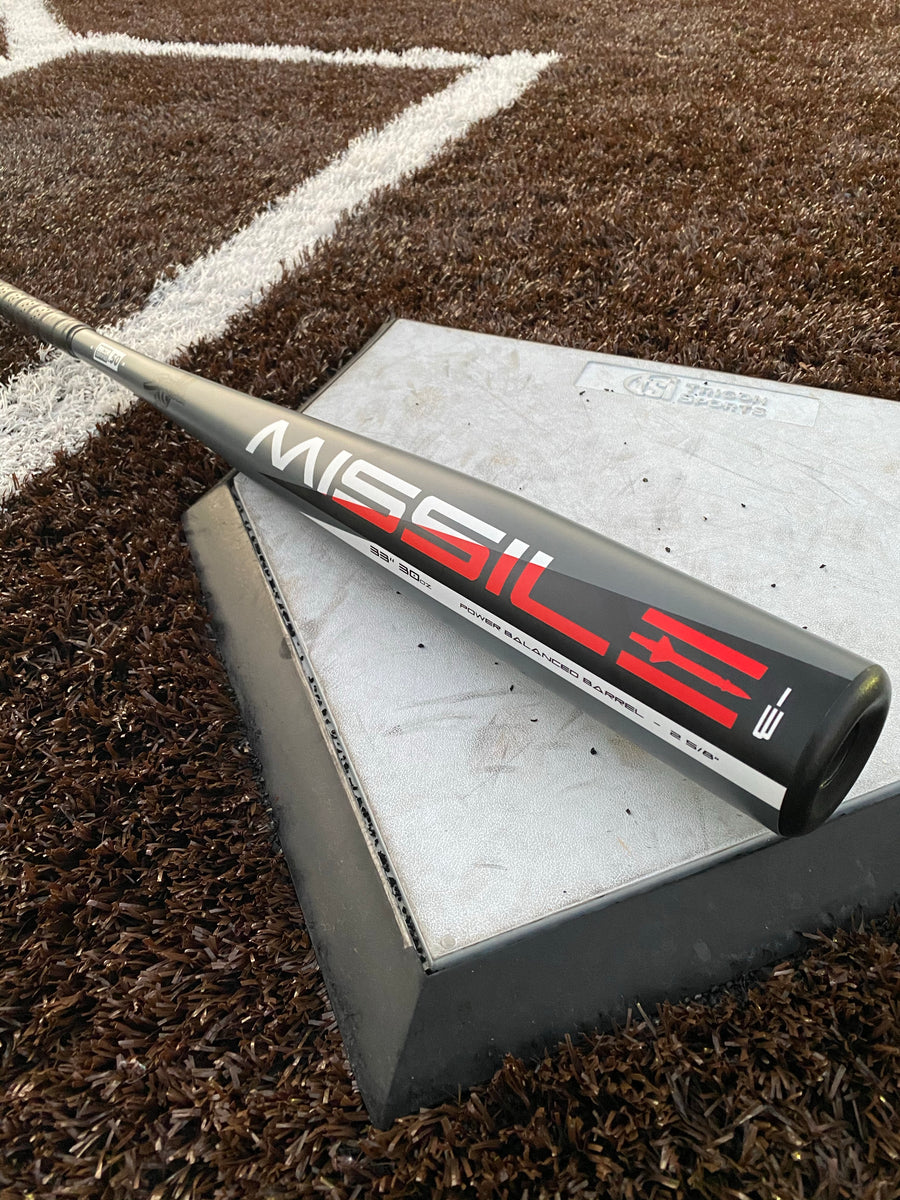 The Missile Aluminum BBCOR Certified -3 Baseball Bat