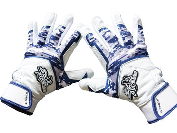 Stinger - Sting Squad Digital Camo (Navy) Batting Gloves