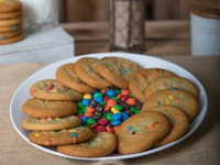 Candy M&M Cookies
