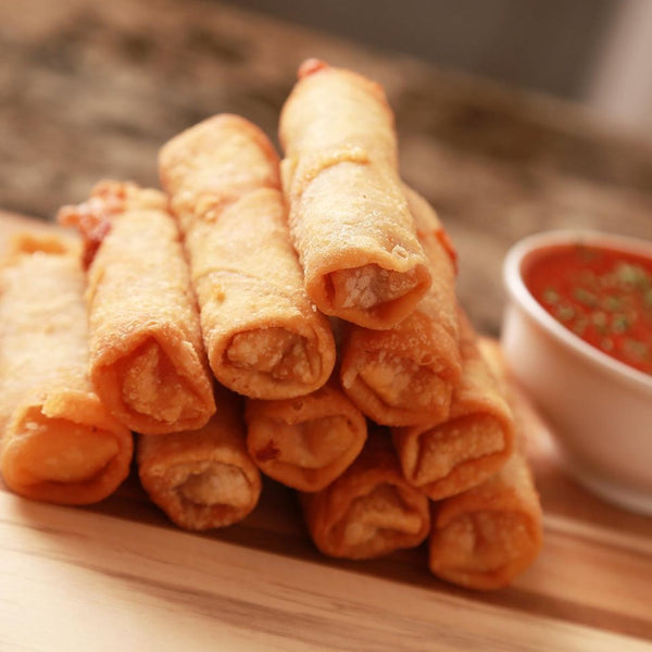 Cheese and Pepperoni Pizza Logs