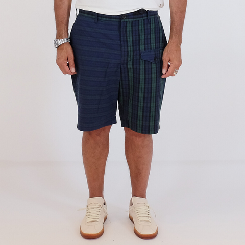 Engineered Garments: Ghurka Shorts (blackwatch big repeat mad)