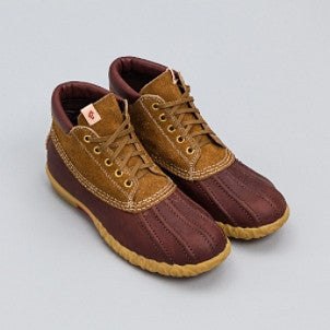 Visvim: Decoy Duck Boot Mid Folk (brown)