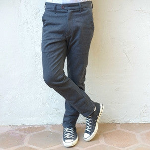 "Canvas . Malibu: ""Malibu Trouser"" (black denim)"