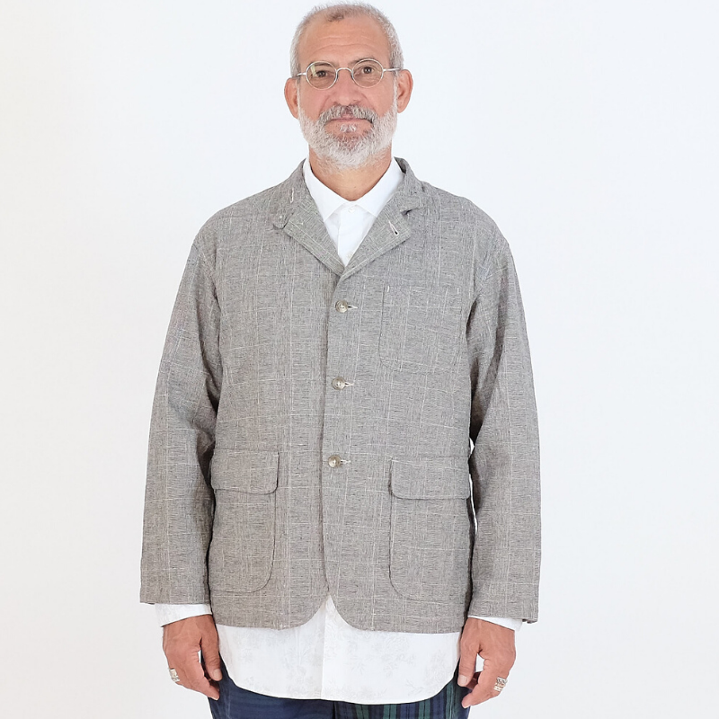 Engineered Garments: Loiter Jacket (glen plaid)