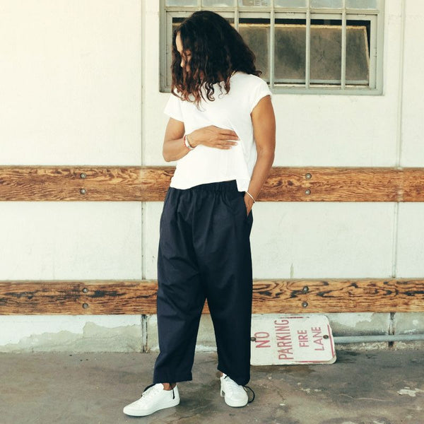 FWK by ENGINEERED GARMENTS: Ballon Pant (navy)
