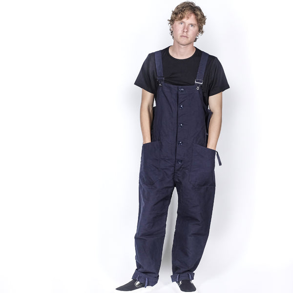 Engineered Garments: Overalls Double Cloth (Dk. Navy)