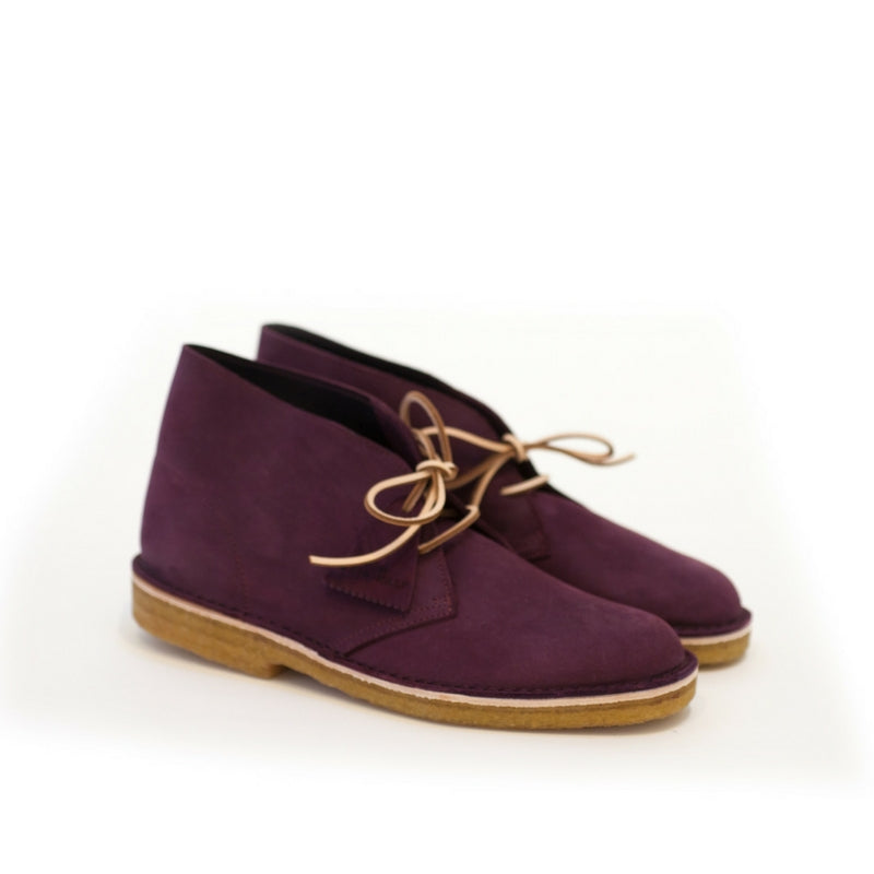 Clarks: Desert Boot Kudo Leather (Purple/Grape)