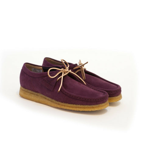 Clarks: Wallabee Kudo Leather (Purple/Grape)