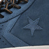 Converse: First String Pro Leather Mid Zip (blue suede)