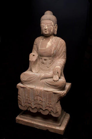 Artifact: Tang Buddha 600 - 900 A.D.