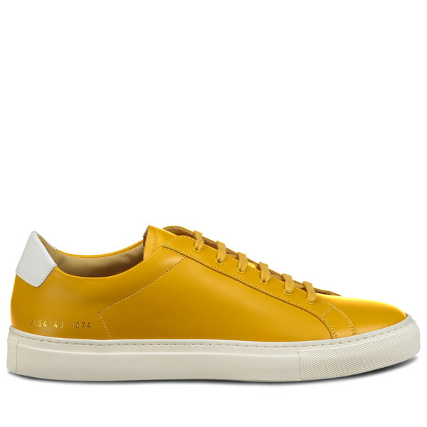 Common Projects: Retro Lo (yellow)