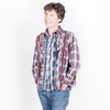 Needles: Ribbon Flannel Shirt  (assorted)