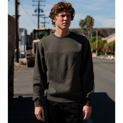Public School: Hutton Triangle Pullover (khaki)