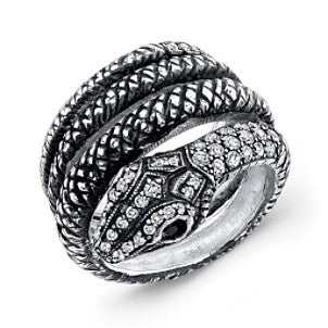 Amy Y Jewelry: Serpent Ring