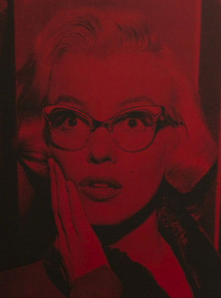 Marilyn Shocked (Red)