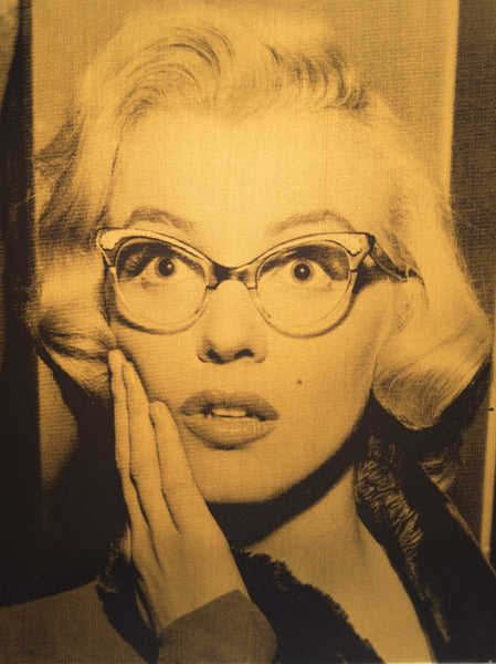 Marilyn Shocked (Silver and (Gold)