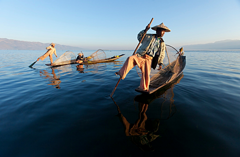 Inle Lake Fishermmen