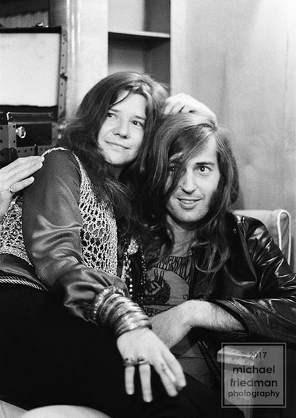 Janis Joplin & Sam Andrew Backstage 1969 (1of5)