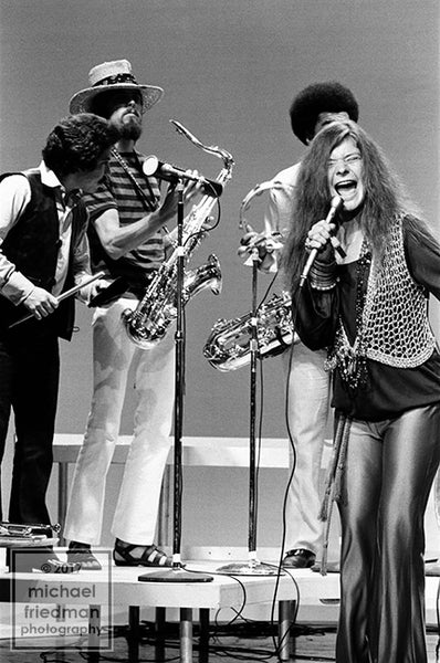 Janis Joplin & Kozmic Blues Band, Dick Cavett Show 1969 (1of5)