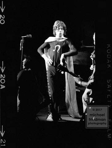 Mick Jagger, Madison Square Garden 1969 (1of5) 2