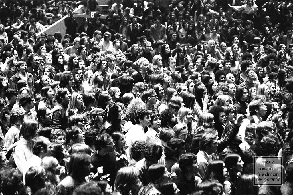 Crowd, Madision Square Garden, 1969 (1of5)