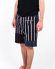 Engineered Garments: Ghurka Shorts Regimental Stripe (Navy/Red/White )