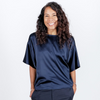 Canvas . Malibu (woman): City Tee Silk (navy)