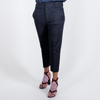 Canvas . Malibu (woman): City Pant . Italian Wool (navy)