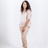 Canvas . Malibu (woman): City Pant . Silk (blush)