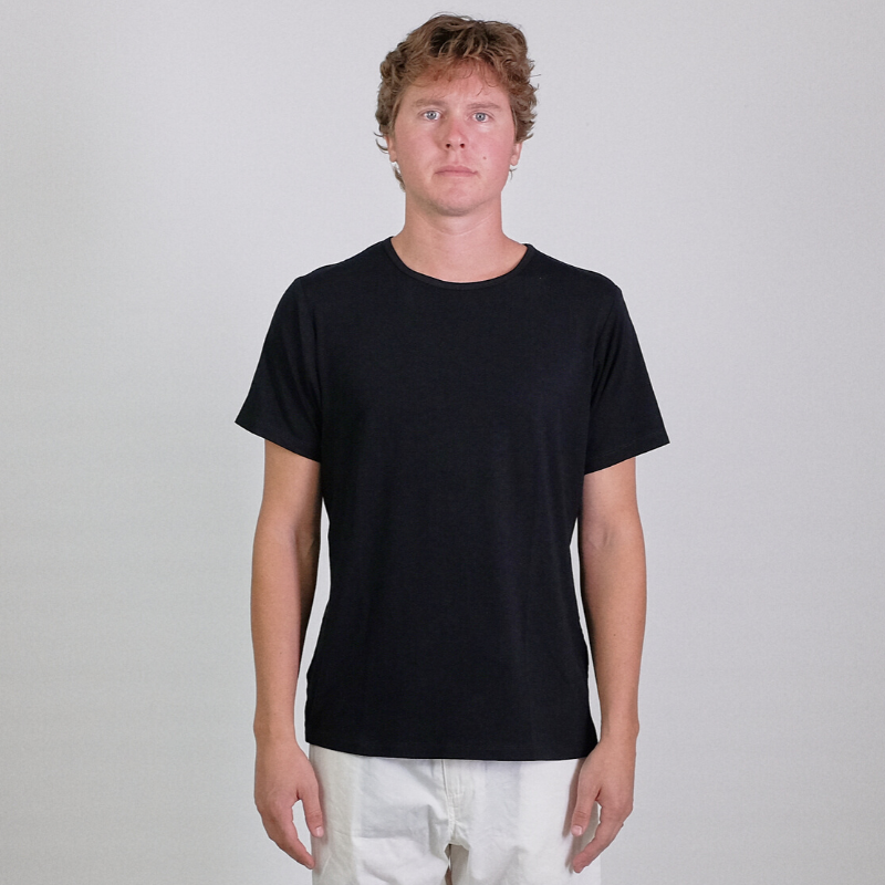 Canvas . Malibu: Soft Tee s/s (black)