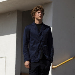 Engineered Garments: Knit Blazer (Navy) Nyco