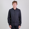 Canvas . Malibu: Micro Wide Collar Shirt (black)