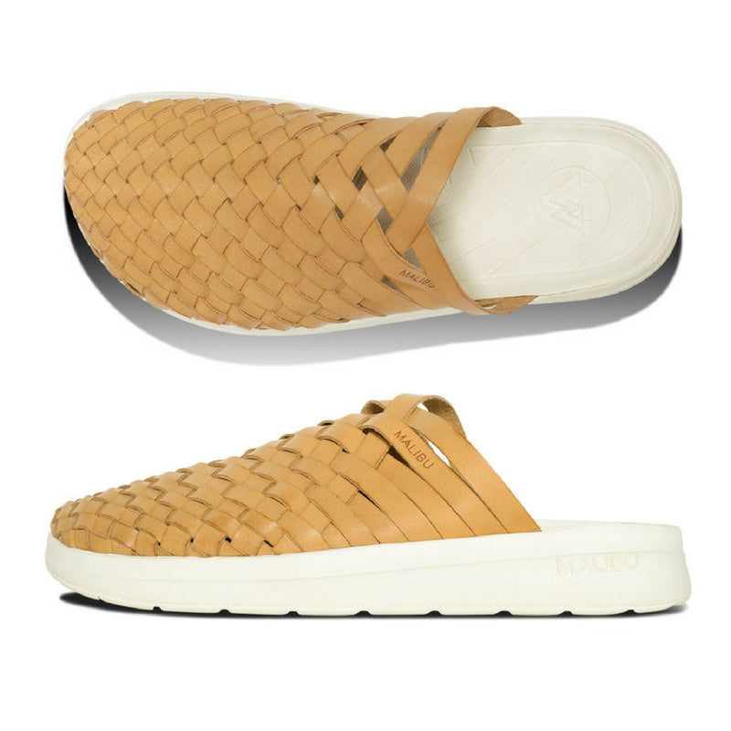 Malibu Sandals: Colony Vegan Leather  (beige/papyrus)