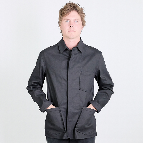Canvas . Malibu: Chore Jacket (black)
