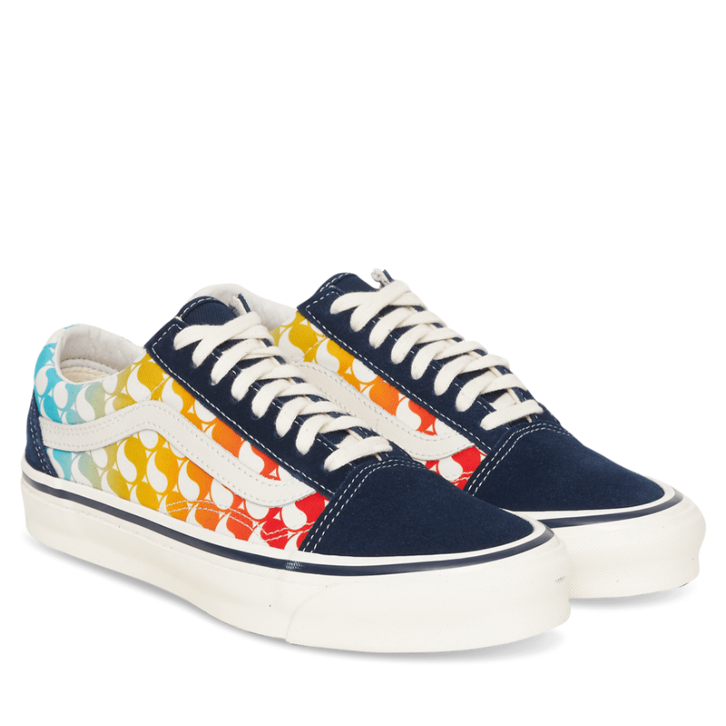 Vans Vault: Free & Easy Og Old Skool Lx Sneakers (Yin Yang / Dress Blue)