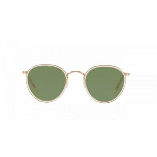 Oliver Peoples: MP-2 Sun (brushed gold + green c glass)