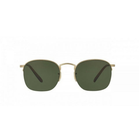Oliver Peoples: Rickman (Brushed Gold + Green)