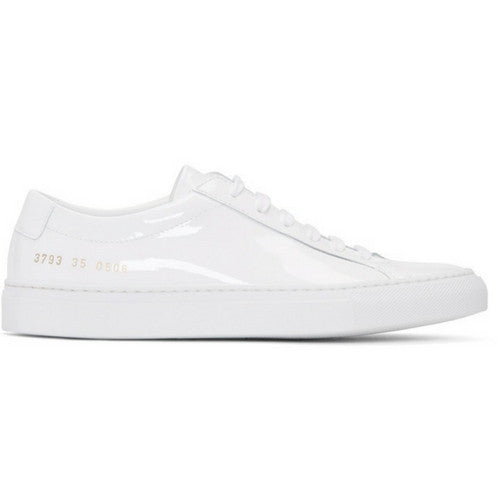 Woman by Common Projects: Achilles Low Gloss (white)