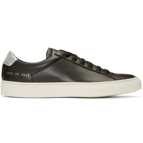 Woman by Common Projects: Achilles Retro Low (black)