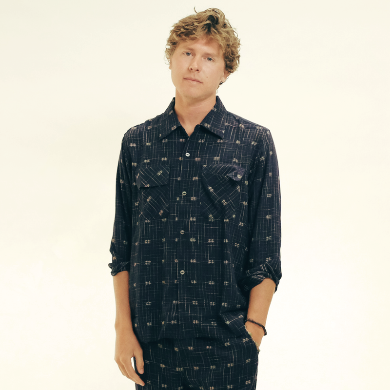 Needles: Classic Shirt Dobby (navy)