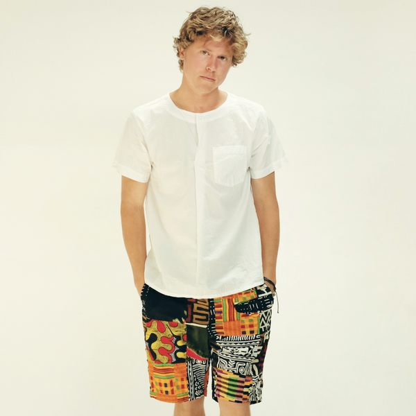 Engineered Garments: Ghurka Short Patchwork African (patch)