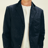 Engineered Garments: Baker Jacket Geo Jacquard (navy)