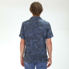 Officine Generale: Dario Shirt Japanese Print (black/blue)